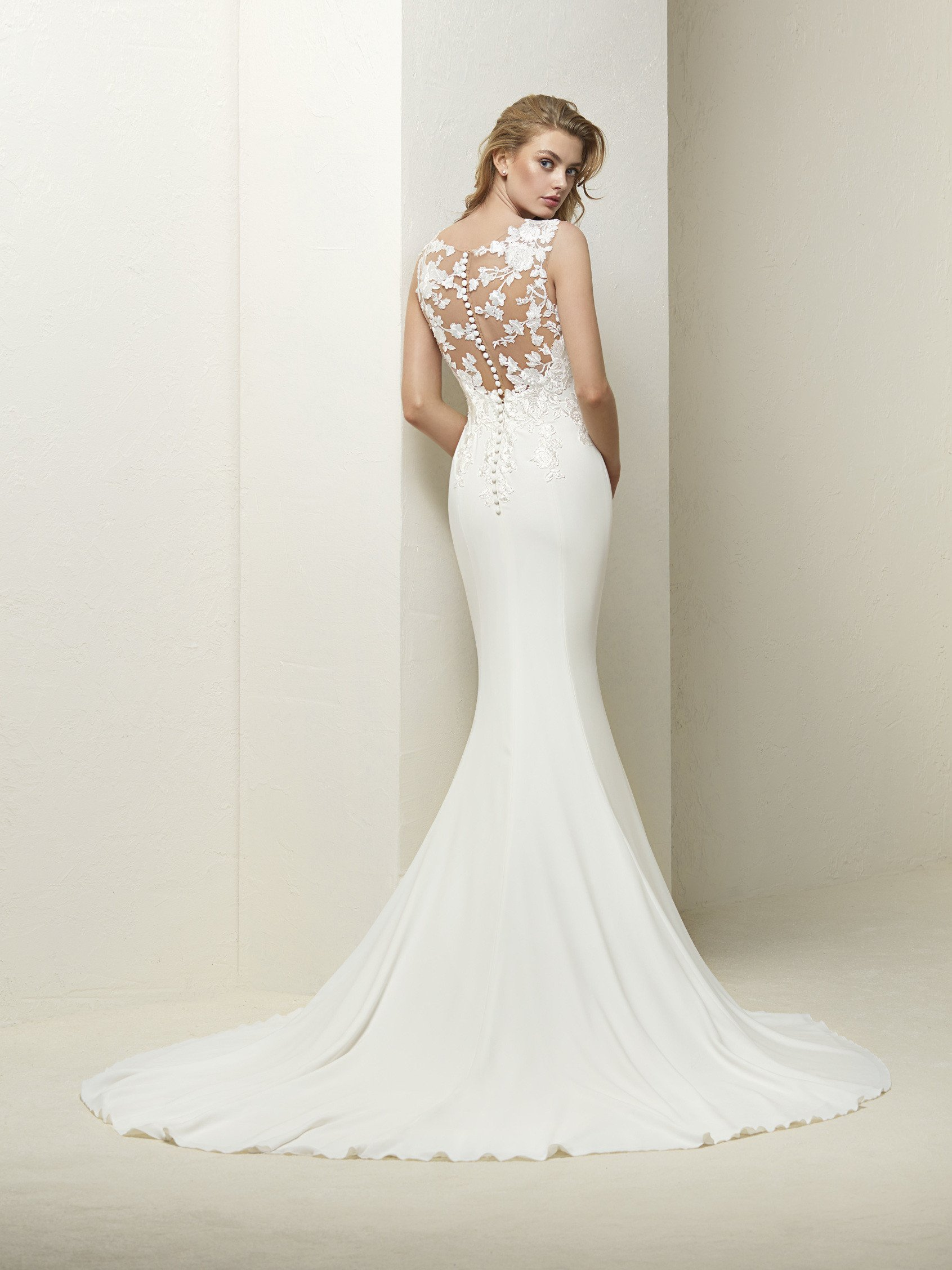 Pronovias wedding dresses Liverpool: Emma Bridal Wear.