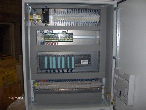 Quadro elettrico per automazione con PLC Siemens