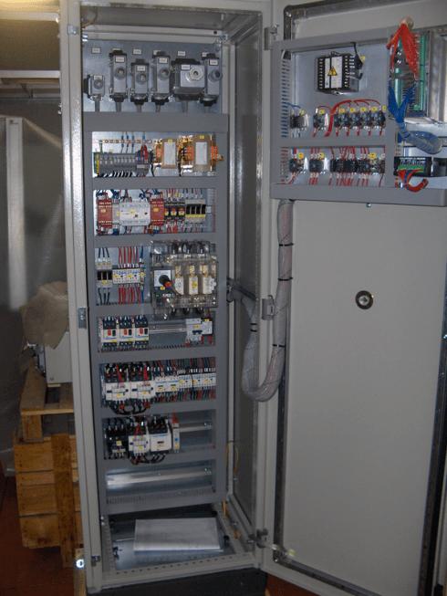 Quadri elettrici per presse meccaniche