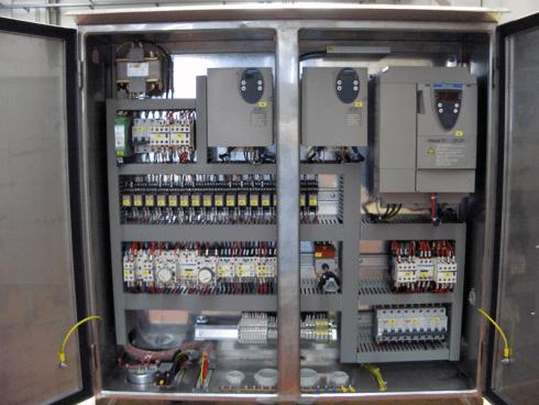 Quadro elettrico gru automontante