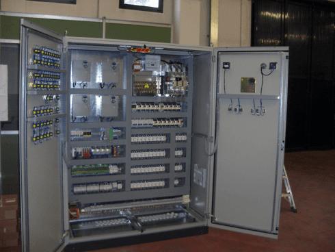 Quadro automazione impinato compostaggio