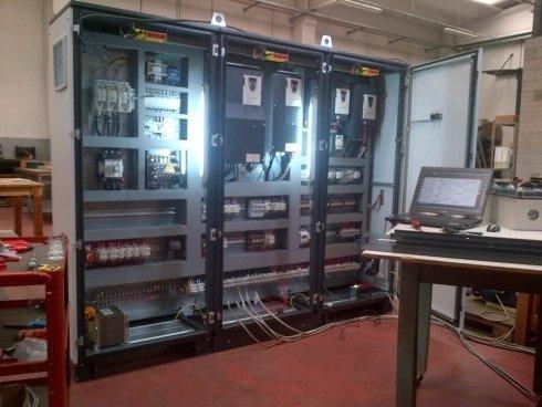 Quadro elettrico impianto di sollevamento 135t