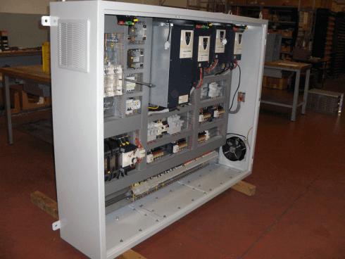 Quadro elettrico impianti di sollevamento 35t