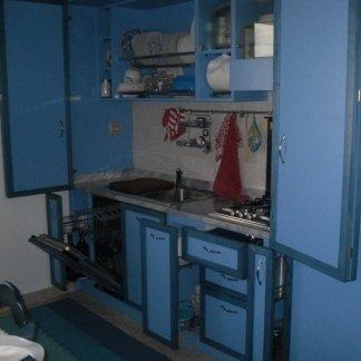 cucina a soggiorno
