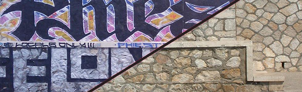 RIMOZIONI GRAFFITI
