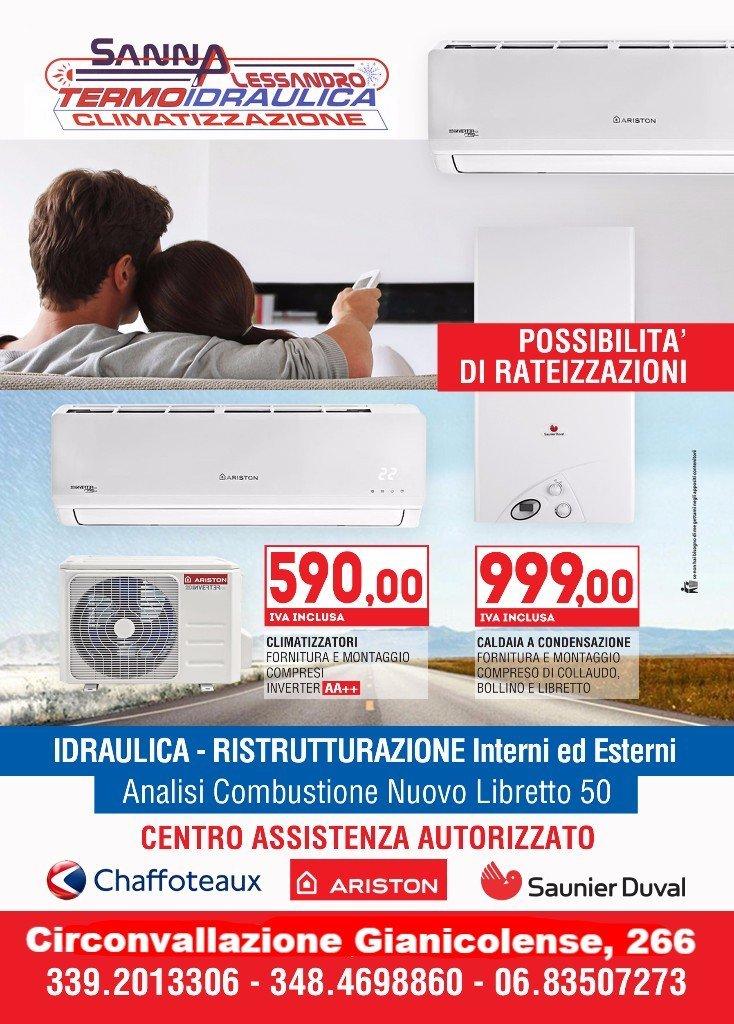 Volantino offerte sanna alessandro termoidraulica climatizzazione