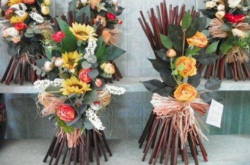 alcune composizioni di fiori