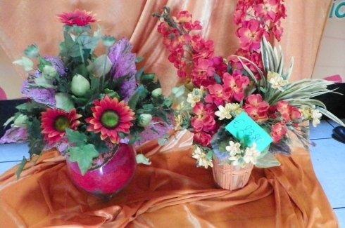 vendita di fiori in vaso