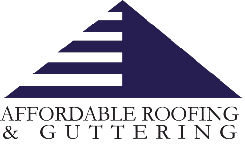 Affordable roofing and guttering logo