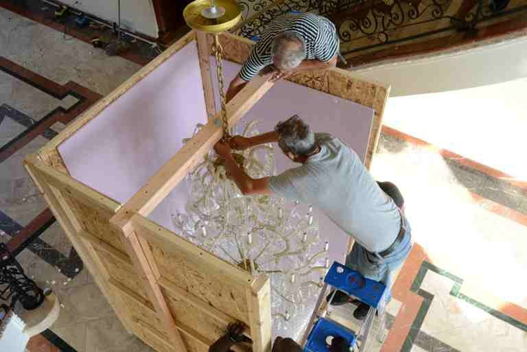 Florida Chandelier Moving Service