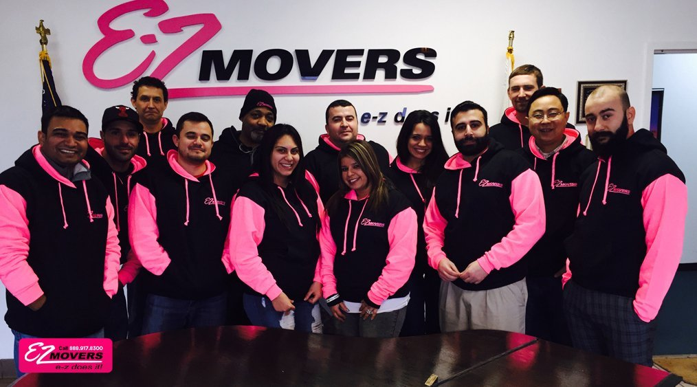 EZ Movers moving company team picture