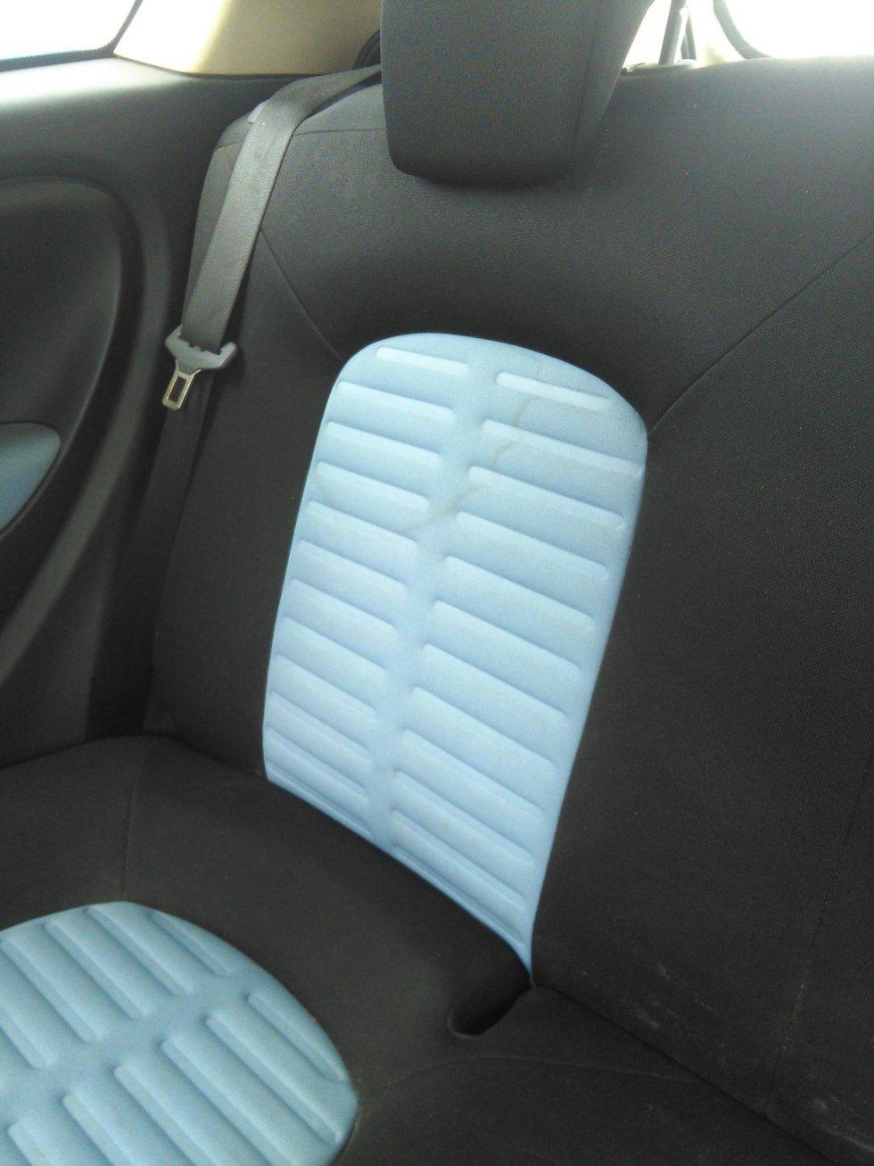 Pulitura sedili auto