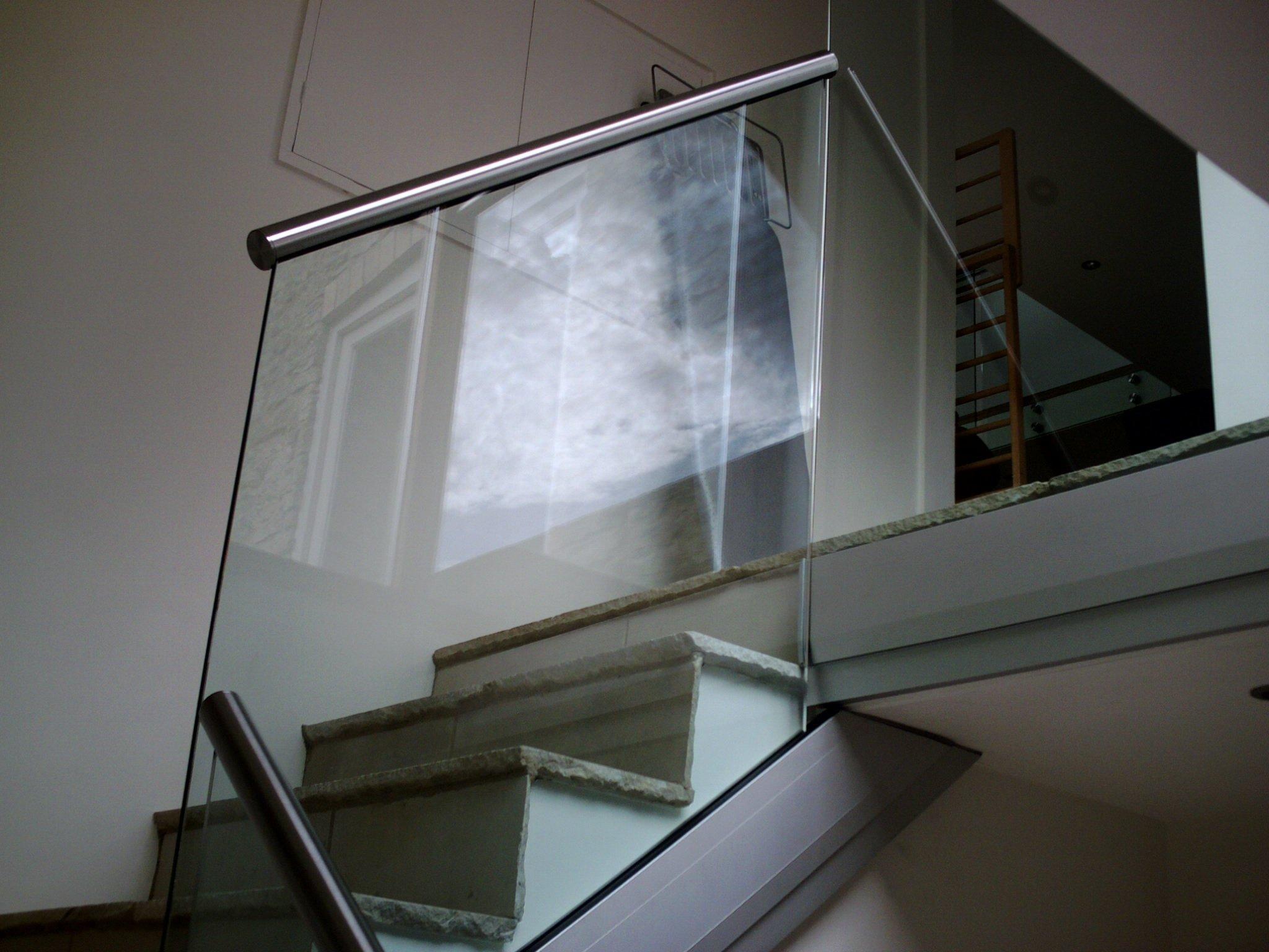 Glass balustrades installation