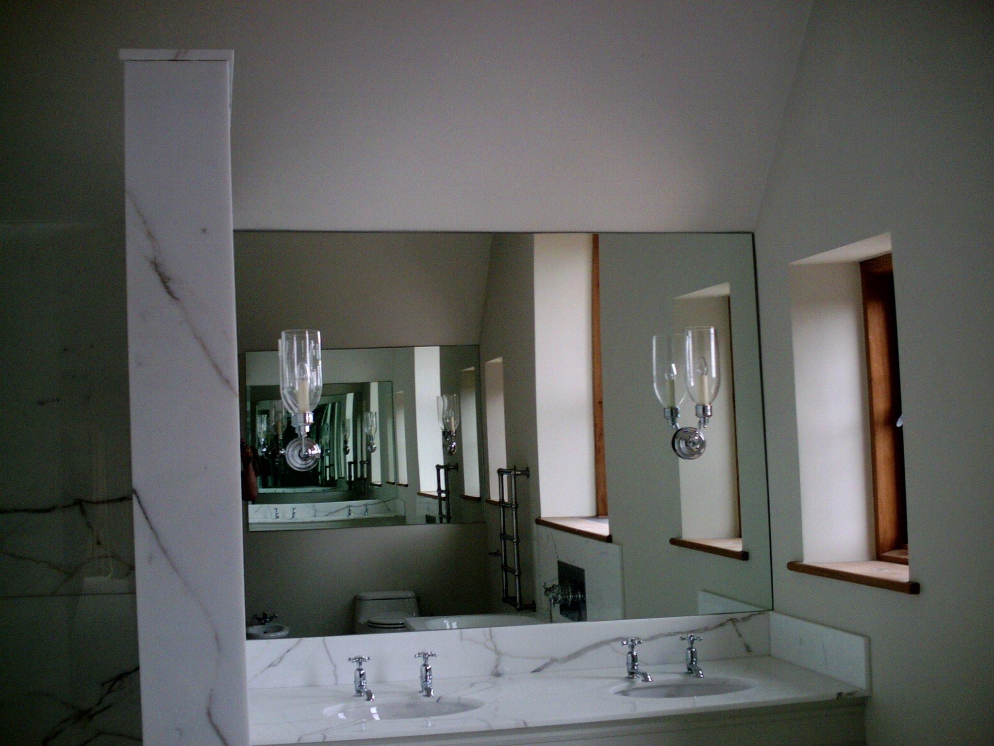 Mirror fitting