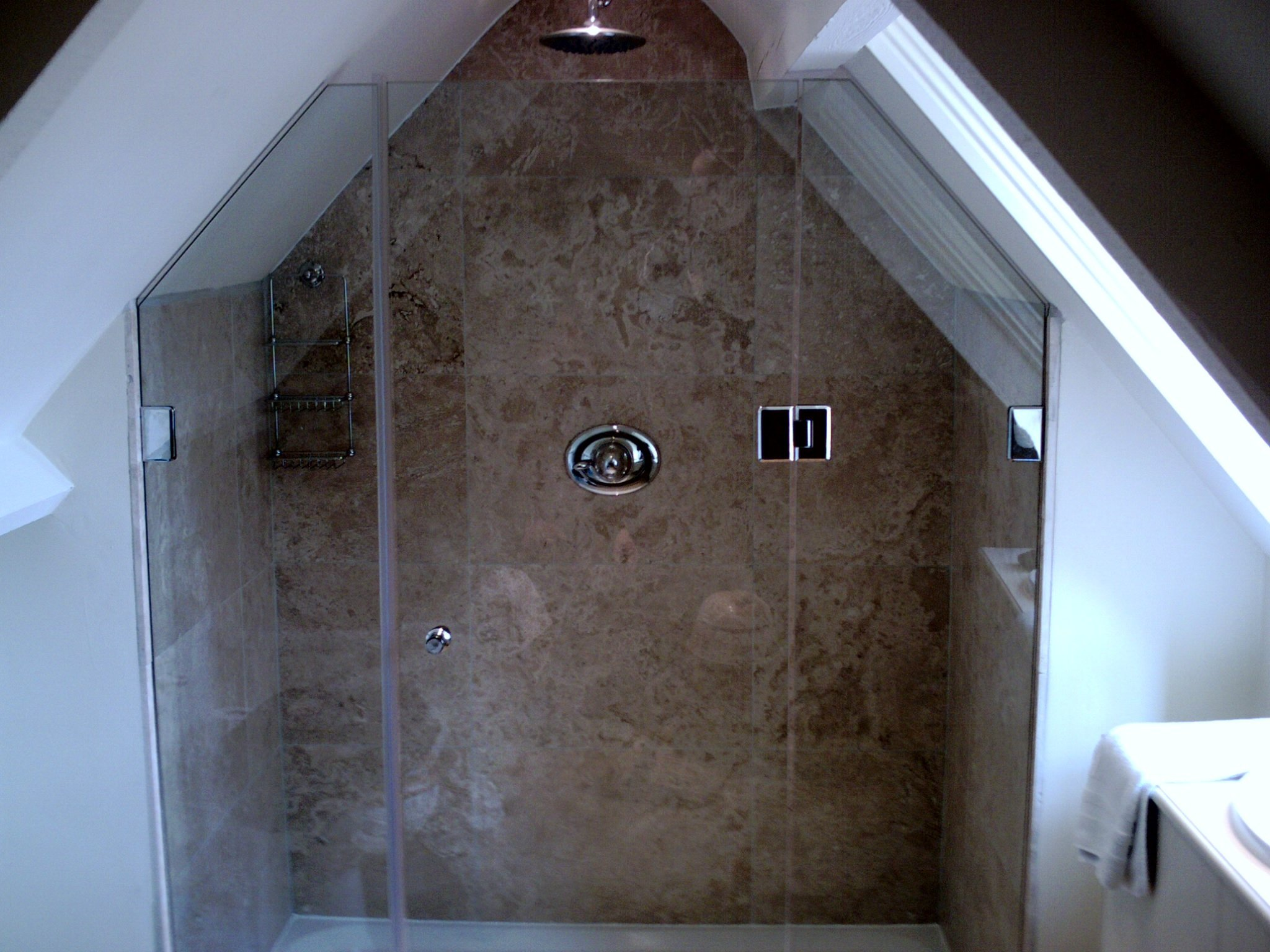 Glass for showers
