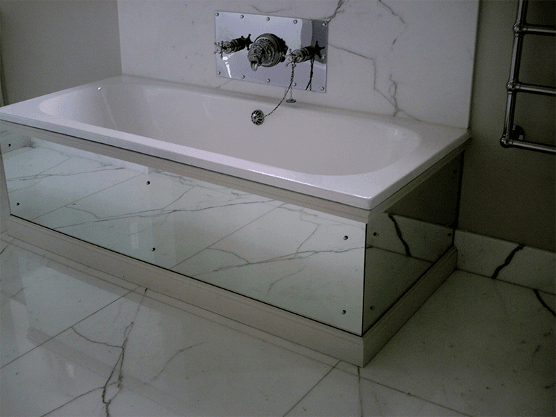 glass for bathrooms