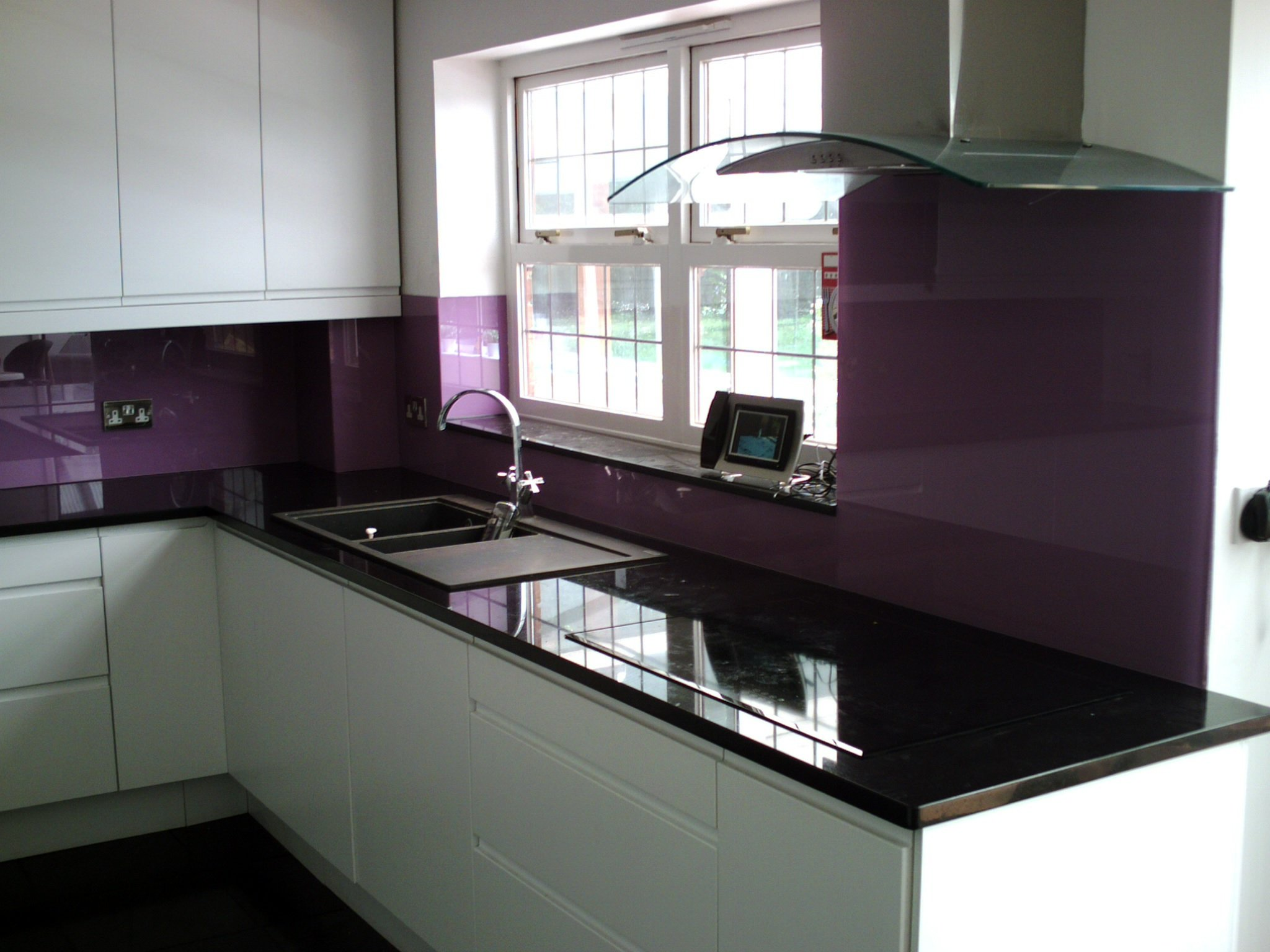 Stunning glass for kitchens