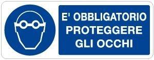Obbligo_è obbligatorio proteggere gli occhi