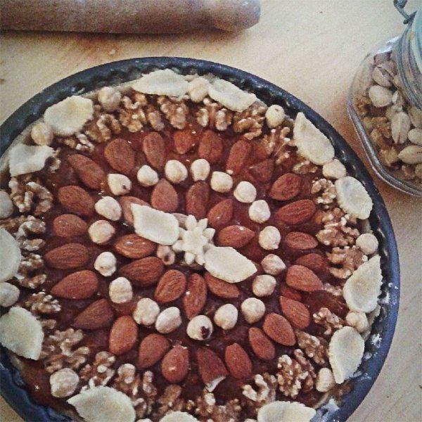 Crostata di frutta secca a Terni