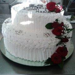 torta per anniversario di nozze