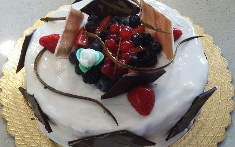 torta con glassa