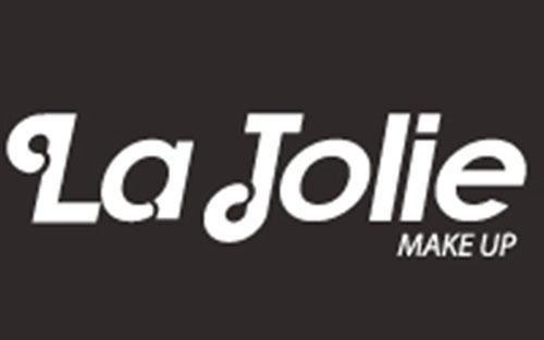 Un logo on scritto La jolie makeup