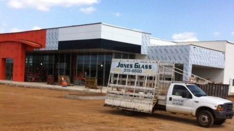commerical glass, glass for store front