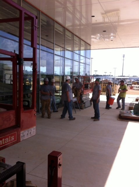 glass for auto dealership in central arkansas