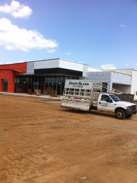glass for auto dealership in benton
