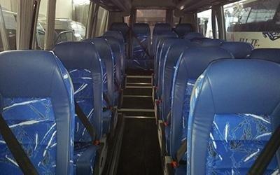 Interni autobus turistici