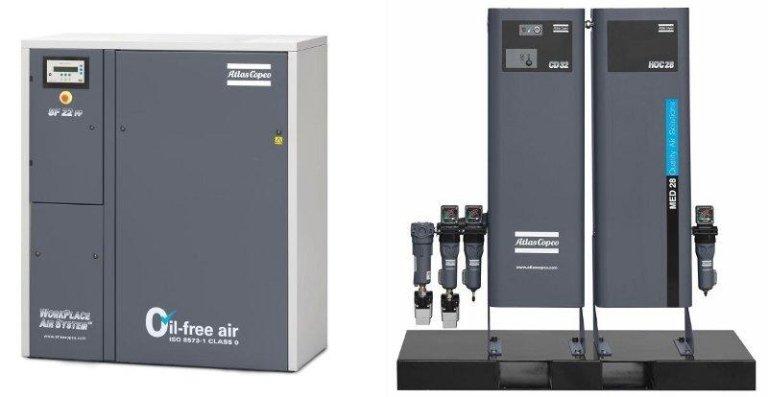 compressori aria medicale