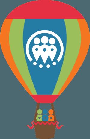 Social Paragon Hot Air Balloon