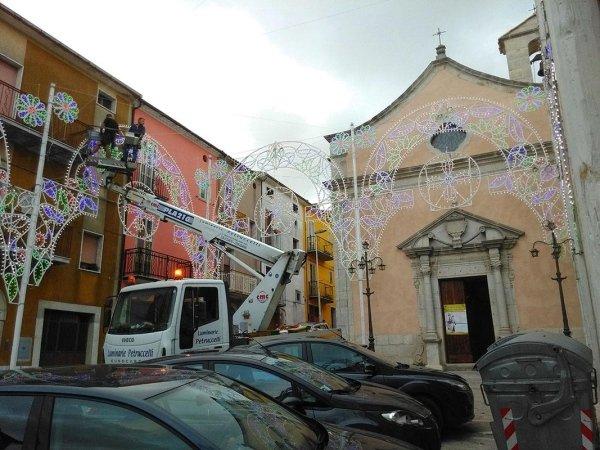 Luminarie per feste Religiose e Civili