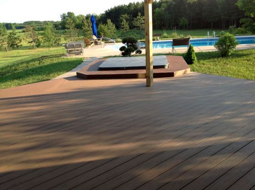 LC carpentry construct beautiful decks in Wisconsin Rapids, WI