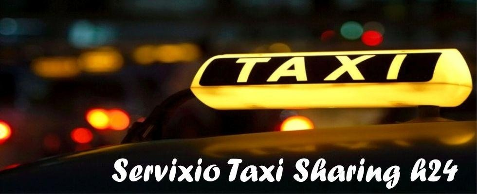servizio taxi sharing h24