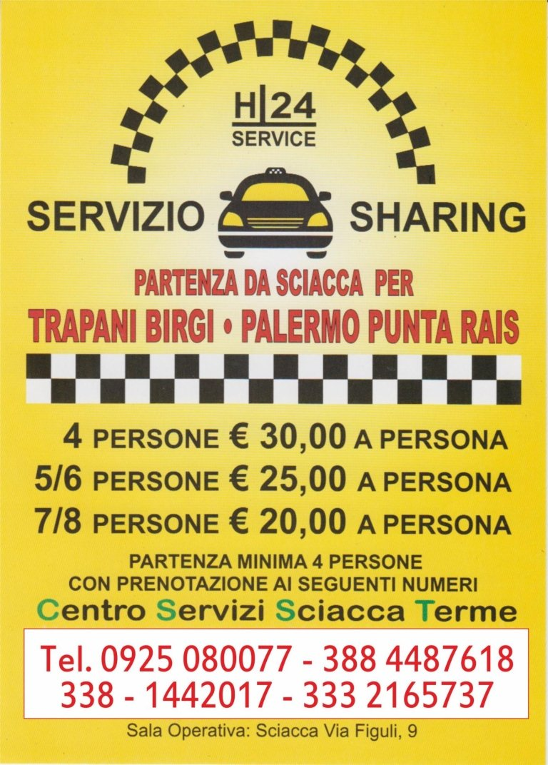 taxi sharing h24
