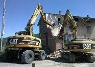 Demolizione struttura fatiscente