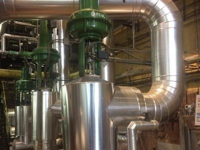 impianto conversione vapore