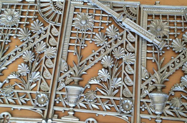 refurbished iron lacework in brookvale