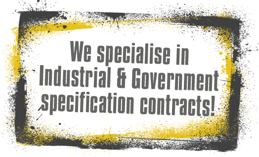 experts in industrial and government sandblasting