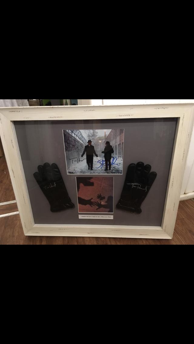 framed gloves