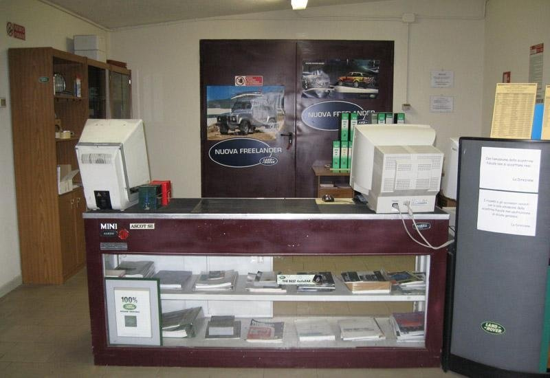 Reception officina meccanica