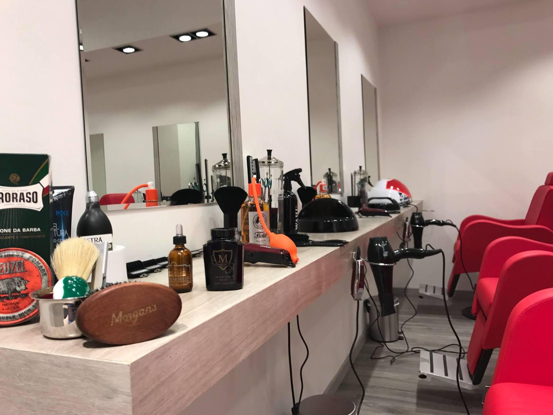 area taglio capelli parrucchiere