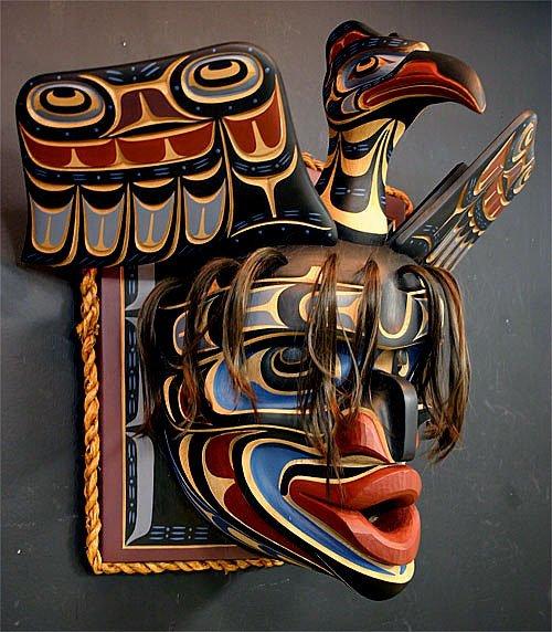 Mask by Tom Hunt Jr. - Master Carver
