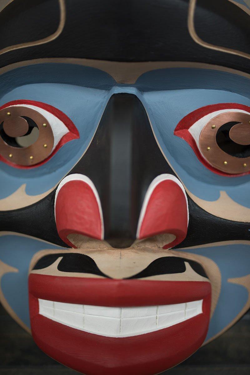 Totem by Tom Hunt Jr. - Master Carver