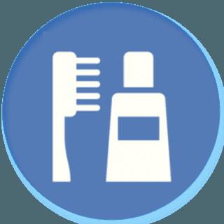 icona per igiene orale e ortodonzia