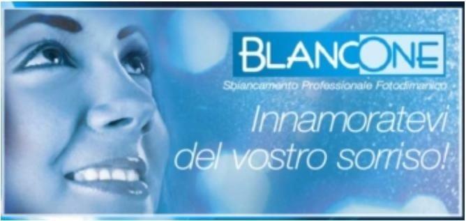 manifesto pubbicitario Blancone