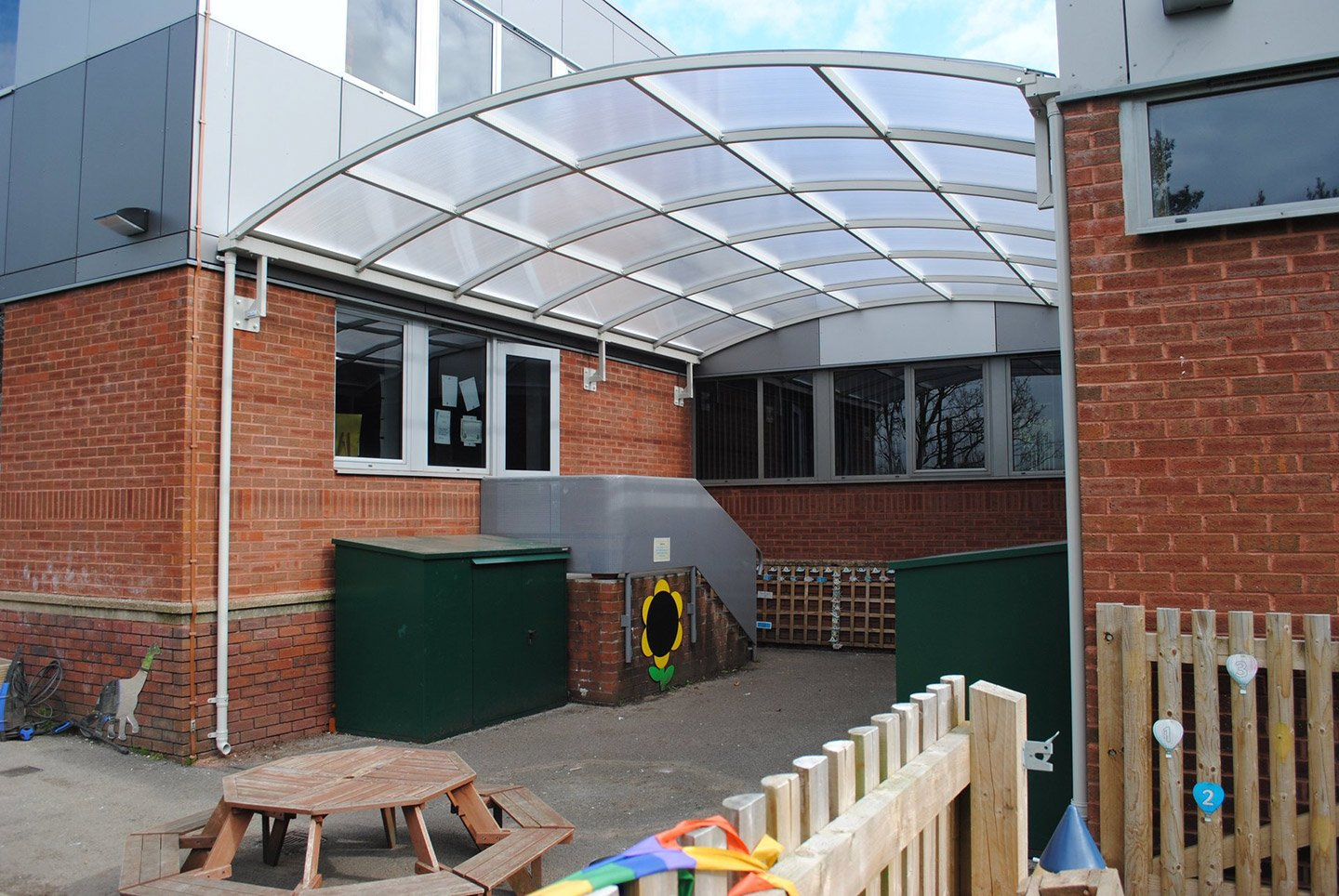 kids play area shelter