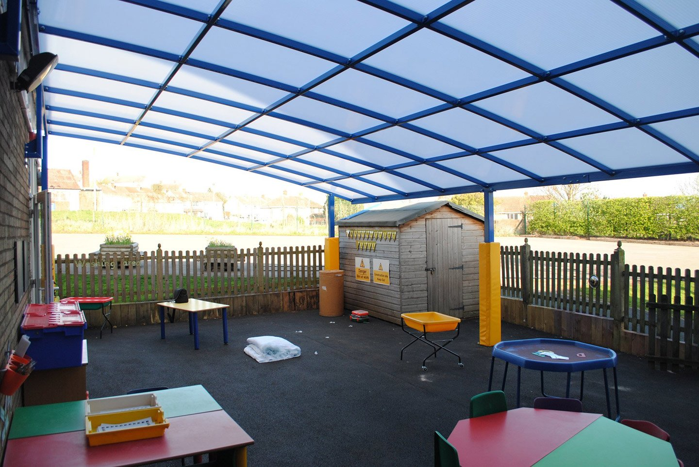 outdoor learning canopy