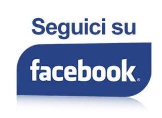 Seguici sulla nostra pagina facebook